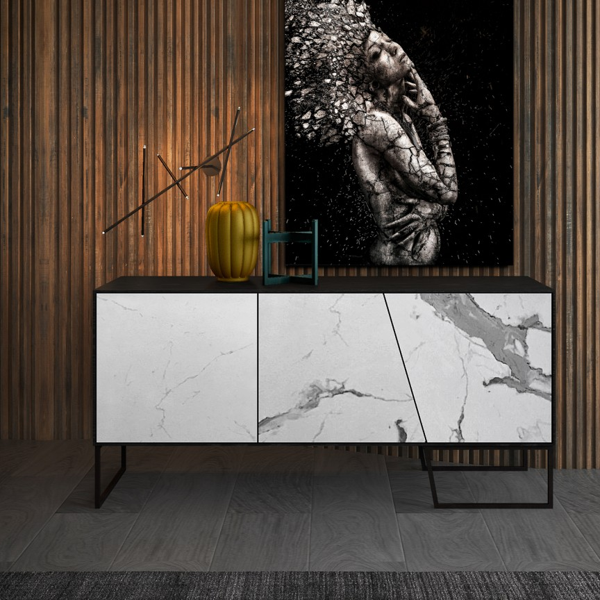 Consola design modern KERALA SV-603645, Mobila si Decoratiuni, Corpuri de iluminat, lustre, aplice, veioze, lampadare, plafoniere. Mobilier si decoratiuni, oglinzi, scaune, fotolii. Oferte speciale iluminat interior si exterior. Livram in toata tara.  a