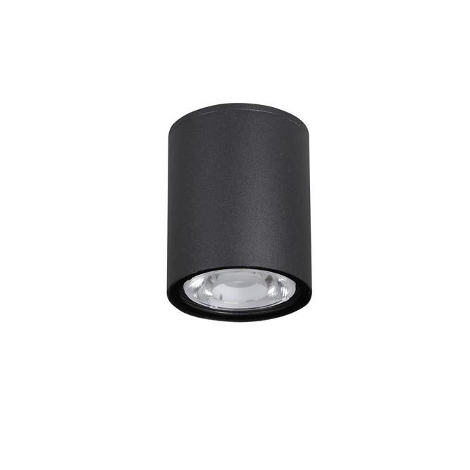 Spot LED aplicat de exterior IP65 CECI negru Ø9cm NVL-9200611, Plafoniere de exterior, Corpuri de iluminat, lustre, aplice, veioze, lampadare, plafoniere. Mobilier si decoratiuni, oglinzi, scaune, fotolii. Oferte speciale iluminat interior si exterior. Livram in toata tara.  a