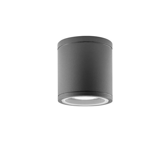 Spot aplicat de exterior IP54 CERISE gri Ø9cm NVL-9020061, Plafoniere de exterior, Corpuri de iluminat, lustre, aplice, veioze, lampadare, plafoniere. Mobilier si decoratiuni, oglinzi, scaune, fotolii. Oferte speciale iluminat interior si exterior. Livram in toata tara.  a