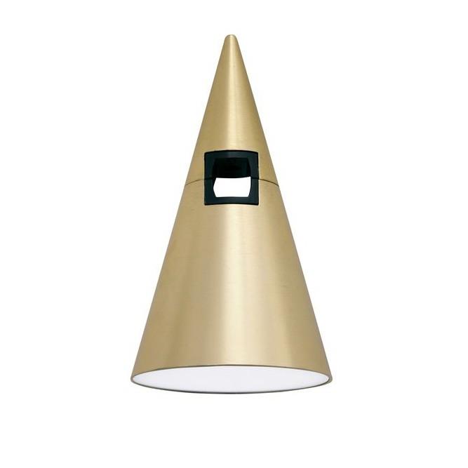 Accesoriu, Corp de iluminat pentru sistemul magnetic PUZZLE si GRAMMI, Cono alama satinata, Spoturi, Proiectoare pe sina,  a