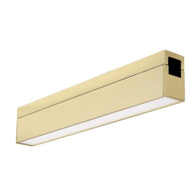 Accesoriu, Corp de iluminat pentru sistemul magnetic PUZZLE si GRAMMI, Versus alama satinata, Proiectoare LED spatii comerciale, Corpuri de iluminat, lustre, aplice, veioze, lampadare, plafoniere. Mobilier si decoratiuni, oglinzi, scaune, fotolii. Oferte speciale iluminat interior si exterior. Livram in toata tara.  a