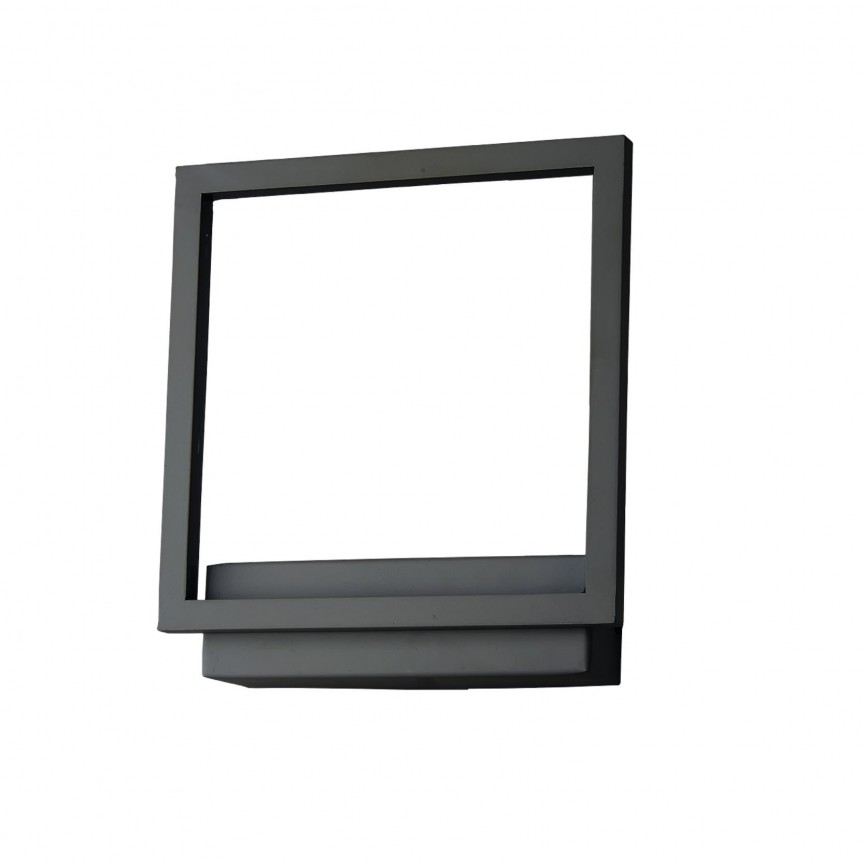 Aplica de perete LED design modern Opera neagra ZZ AZ3141, Aplice de perete LED, Corpuri de iluminat, lustre, aplice, veioze, lampadare, plafoniere. Mobilier si decoratiuni, oglinzi, scaune, fotolii. Oferte speciale iluminat interior si exterior. Livram in toata tara.  a