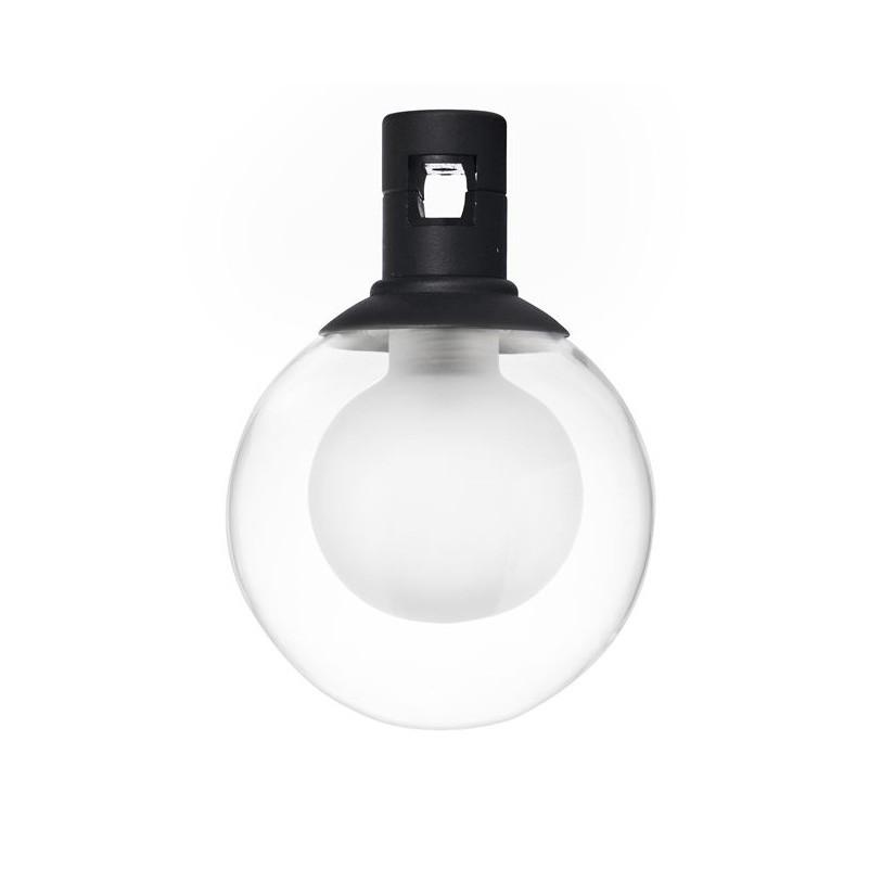 Accesoriu, Corp de iluminat pentru sistemul magnetic PUZZLE si GRAMMI, Minimal negru, Spoturi, Proiectoare pe sina,  a