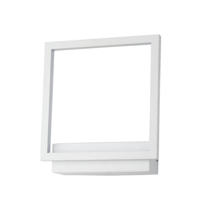 Aplica de perete LED design modern Opera alba ZZ AZ3142, Aplice de perete LED, Corpuri de iluminat, lustre, aplice, veioze, lampadare, plafoniere. Mobilier si decoratiuni, oglinzi, scaune, fotolii. Oferte speciale iluminat interior si exterior. Livram in toata tara.  a