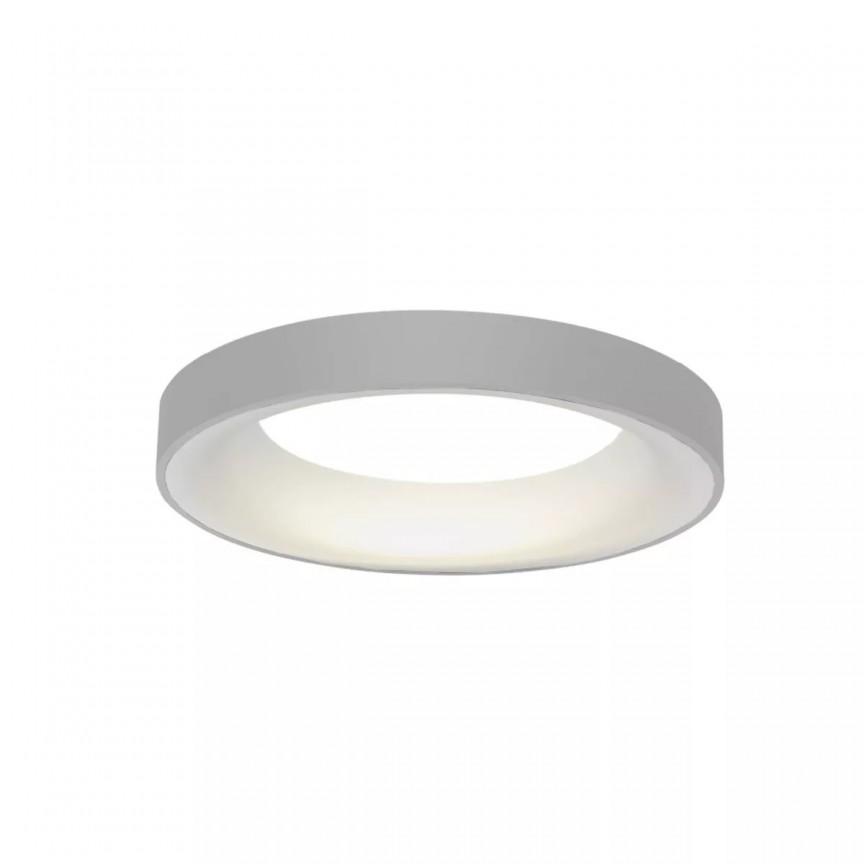 Lustra LED dimabila cu telecomanda SOVANA TOP 45 gri ZZ AZ3435, Lampi LED si Telecomanda,  a