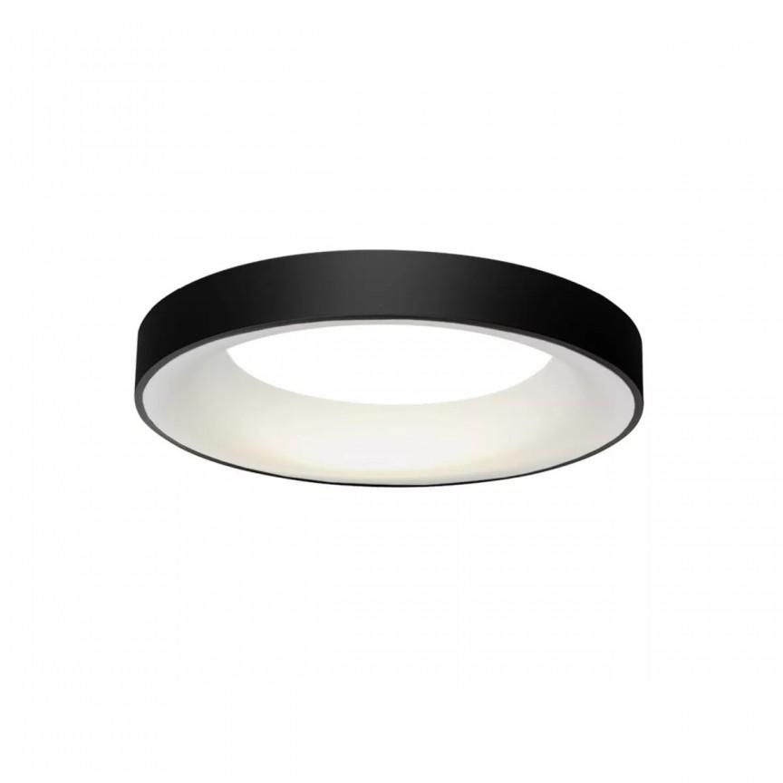 Lustra LED dimabila cu telecomanda SOVANA TOP 45 neagra ZZ AZ3434, Lampi LED si Telecomanda,  a