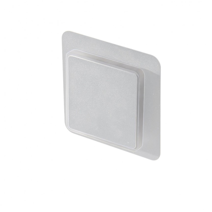 Aplica de perete LED ambientala Onyx alba ZZ AZ3357, Aplice de perete moderne, Corpuri de iluminat, lustre, aplice, veioze, lampadare, plafoniere. Mobilier si decoratiuni, oglinzi, scaune, fotolii. Oferte speciale iluminat interior si exterior. Livram in toata tara.  a