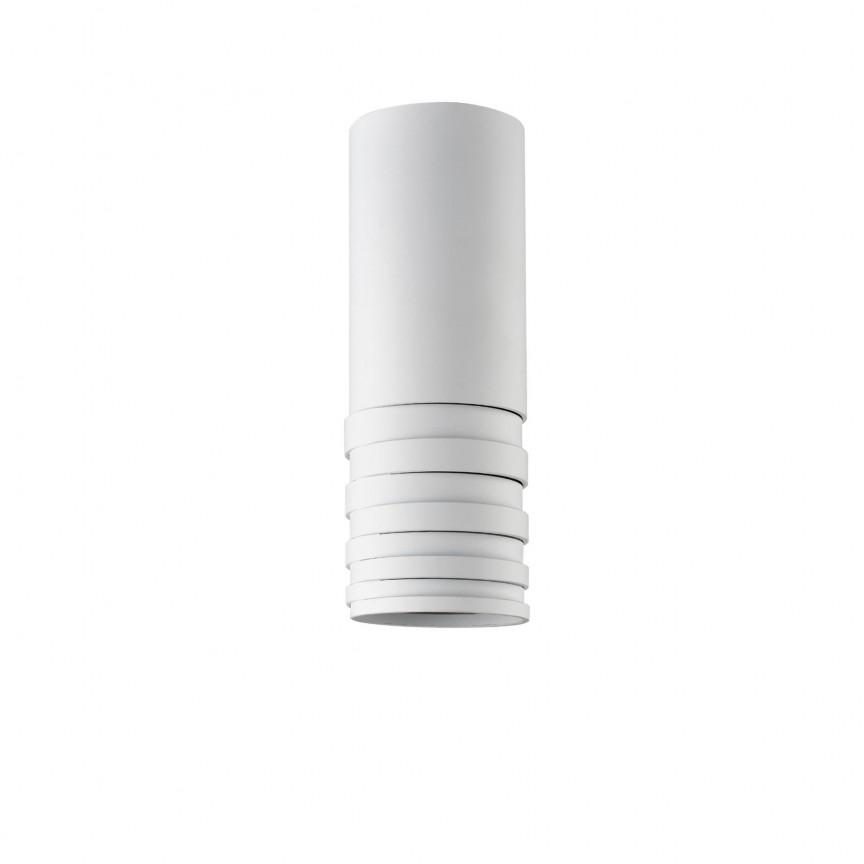 Spot aplicat tavan/plafon design modern Locus Top alb ZZ AZ3125, Plafoniere LED, Spoturi LED, Corpuri de iluminat, lustre, aplice, veioze, lampadare, plafoniere. Mobilier si decoratiuni, oglinzi, scaune, fotolii. Oferte speciale iluminat interior si exterior. Livram in toata tara.  a