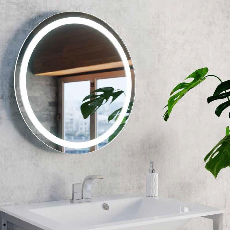 Oglinda cu iluminat LED pentru baie IP44 Aurora R 80 ZZ AZ51061, Oglinzi de baie cu LED⭐ modele moderne deosebite cu iluminare LED incorporata potrivite pentru perete baie.✅Design decorativ 2021!❤️Promotii❗ ➽ www.evalight.ro. Alege oferte la colectile NOI de oglinzi de baie cu lumina LED integrata, tip dulap, rotunde, patrate si dreptunghiulare, calitate de lux la cel mai bun pret. a