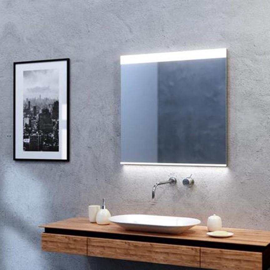 Oglinda cu iluminat LED pentru baie IP44 Andromeda 80x100 ZZ AZ51058, Oglinzi de baie cu iluminare LED, ⭐ modele moderne decorative potrivite pentru baia ta.✅ Design premium actual Top 2020!❤️Promotii❗ ➽ www.evalight.ro. Alege oferta la oglinda cu LED baie cu lumina incorporata de tip dulap rotunda, patrata si dreptunghiulara, ieftine si de calitate deosebita la cel mai bun pret. a
