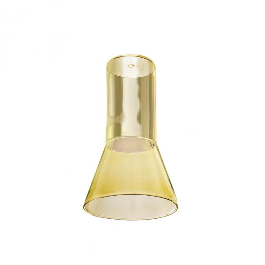 Accesoriu/ Sticla, abajur pentru pendul Ziko GU10 yellow, ACCESORII ILUMINAT, Corpuri de iluminat, lustre, aplice, veioze, lampadare, plafoniere. Mobilier si decoratiuni, oglinzi, scaune, fotolii. Oferte speciale iluminat interior si exterior. Livram in toata tara.  a