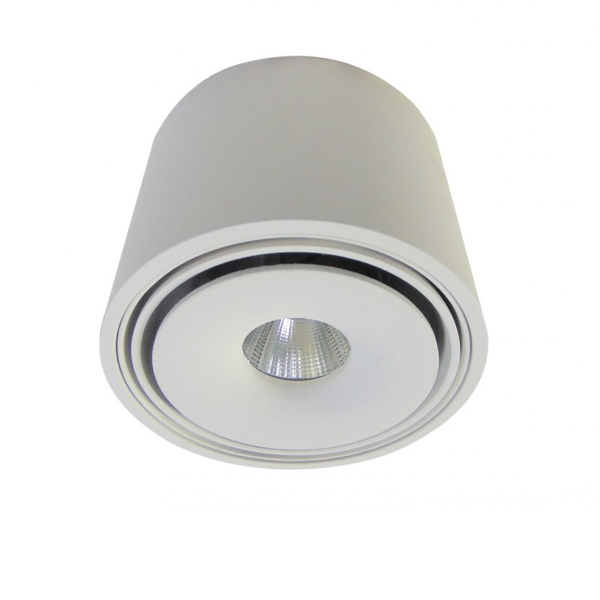 Spot LED aplicat directionabil de tavan/plafon BOSTON TUBE alb ZZ AZ3469, Plafoniere LED, Spoturi LED, Corpuri de iluminat, lustre, aplice, veioze, lampadare, plafoniere. Mobilier si decoratiuni, oglinzi, scaune, fotolii. Oferte speciale iluminat interior si exterior. Livram in toata tara.  a