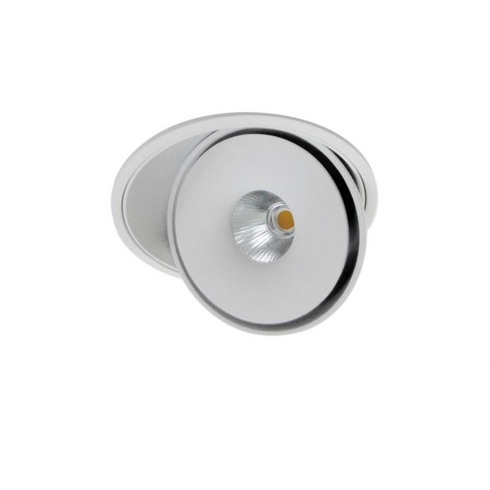 Spot LED incastrabil directionabil de tavan/plafon BOSTON 1 ROUND alb ZZ AZ3471, Spoturi incastrate - tavan fals / perete, Corpuri de iluminat, lustre, aplice, veioze, lampadare, plafoniere. Mobilier si decoratiuni, oglinzi, scaune, fotolii. Oferte speciale iluminat interior si exterior. Livram in toata tara.  a