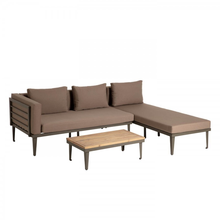 Set mobilier 3 piese pentru exterior Pascale S648R15 JG, Mobilier terasa si gradina, Corpuri de iluminat, lustre, aplice, veioze, lampadare, plafoniere. Mobilier si decoratiuni, oglinzi, scaune, fotolii. Oferte speciale iluminat interior si exterior. Livram in toata tara.  a