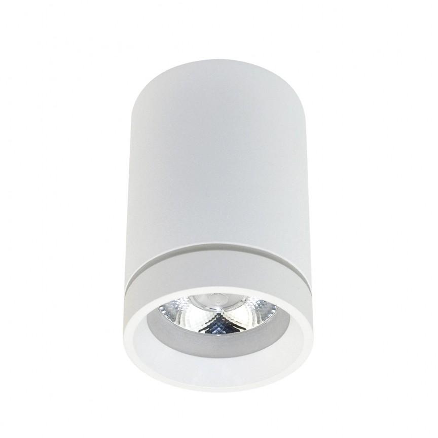 Spot LED aplicat de tavan/plafon Bill alb ZZ AZ3375, Spoturi aplicate - tavan / perete, Corpuri de iluminat, lustre, aplice, veioze, lampadare, plafoniere. Mobilier si decoratiuni, oglinzi, scaune, fotolii. Oferte speciale iluminat interior si exterior. Livram in toata tara.  a