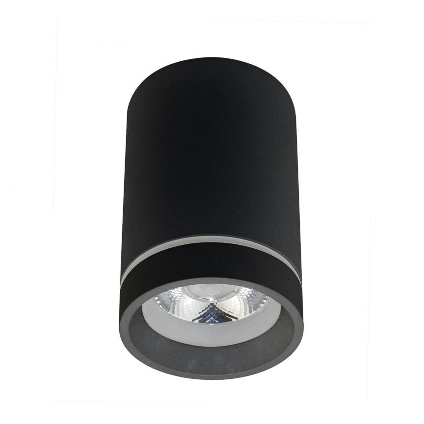 Spot LED aplicat de tavan/plafon Bill negru ZZ AZ3376, Spoturi aplicate - tavan / perete, Corpuri de iluminat, lustre, aplice, veioze, lampadare, plafoniere. Mobilier si decoratiuni, oglinzi, scaune, fotolii. Oferte speciale iluminat interior si exterior. Livram in toata tara.  a