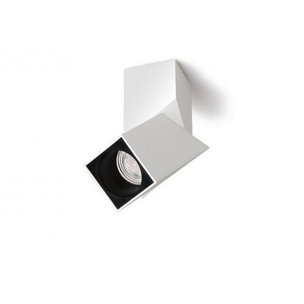 Spot LED aplicat directionabil design modern Santos Square alb ZZ AZ3522, Spoturi aplicate - tavan / perete, Corpuri de iluminat, lustre, aplice, veioze, lampadare, plafoniere. Mobilier si decoratiuni, oglinzi, scaune, fotolii. Oferte speciale iluminat interior si exterior. Livram in toata tara.  a