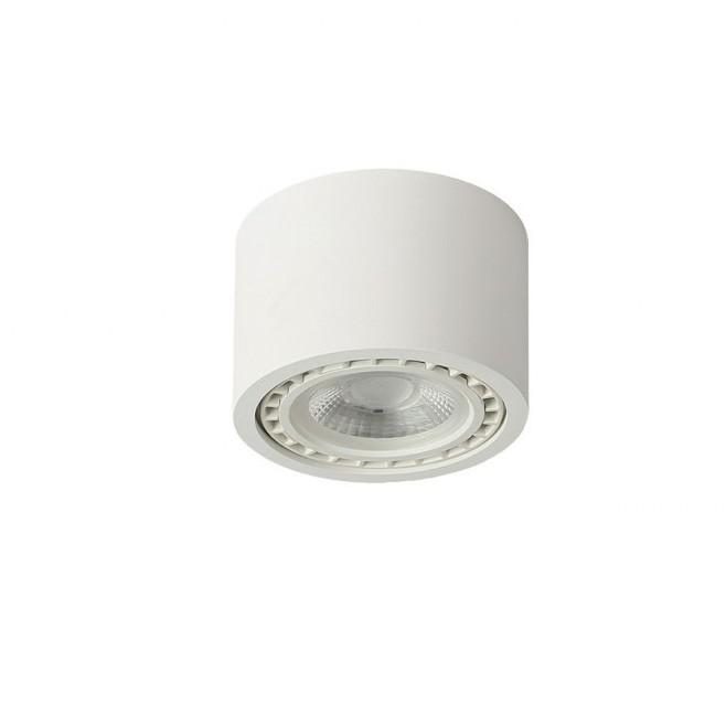 Spot aplicat de tavan/plafon ECO ALIX NEW alb ZZ AZ3492, Spoturi aplicate - tavan / perete, Corpuri de iluminat, lustre, aplice, veioze, lampadare, plafoniere. Mobilier si decoratiuni, oglinzi, scaune, fotolii. Oferte speciale iluminat interior si exterior. Livram in toata tara.  a