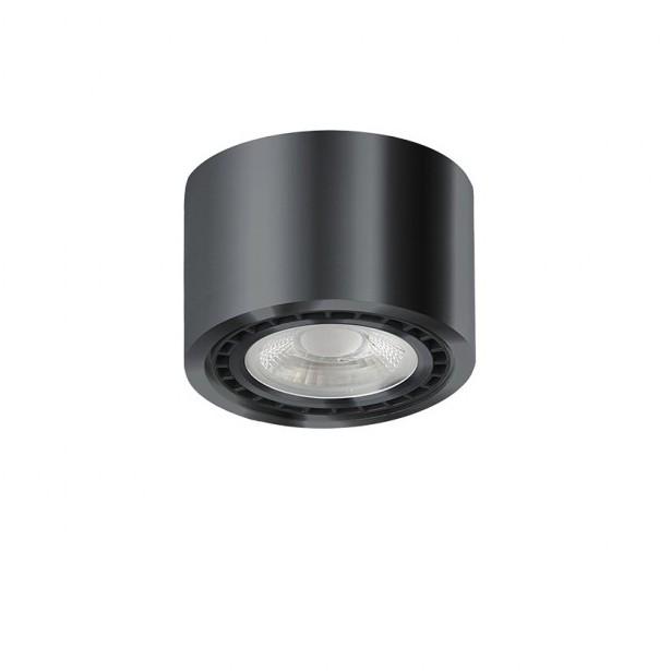 Spot aplicat de tavan/plafon ECO ALIX NEW negru crom ZZ AZ3494, Spoturi aplicate - tavan / perete, Corpuri de iluminat, lustre, aplice, veioze, lampadare, plafoniere. Mobilier si decoratiuni, oglinzi, scaune, fotolii. Oferte speciale iluminat interior si exterior. Livram in toata tara.  a