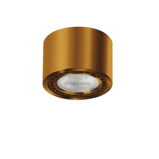Spot aplicat de tavan/plafon ECO ALIX NEW auriu antic ZZ AZ3496, Spoturi aplicate - tavan / perete, Corpuri de iluminat, lustre, aplice, veioze, lampadare, plafoniere. Mobilier si decoratiuni, oglinzi, scaune, fotolii. Oferte speciale iluminat interior si exterior. Livram in toata tara.  a