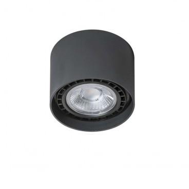 Spot aplicat de tavan/plafon ECO ALIX negru ZZ AZ1837, Spoturi aplicate - tavan / perete, Corpuri de iluminat, lustre, aplice, veioze, lampadare, plafoniere. Mobilier si decoratiuni, oglinzi, scaune, fotolii. Oferte speciale iluminat interior si exterior. Livram in toata tara.  a