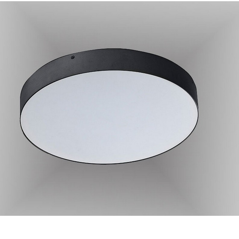 Plafoniera LED design slim MONZA II R40 3000K neagra ZZ AZ3798, Plafoniere LED, Spoturi LED, Corpuri de iluminat, lustre, aplice, veioze, lampadare, plafoniere. Mobilier si decoratiuni, oglinzi, scaune, fotolii. Oferte speciale iluminat interior si exterior. Livram in toata tara.  a