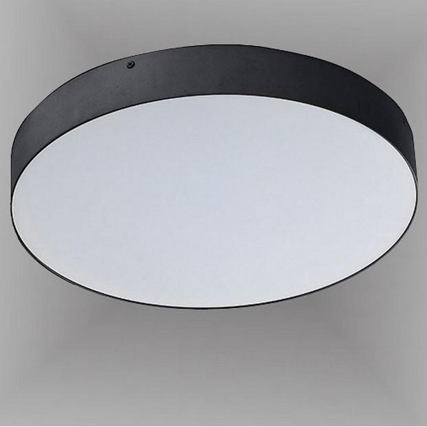 Plafoniera LED design slim MONZA II R60 4000K neagra ZZ AZ3680, Plafoniere LED, Spoturi LED, Corpuri de iluminat, lustre, aplice, veioze, lampadare, plafoniere. Mobilier si decoratiuni, oglinzi, scaune, fotolii. Oferte speciale iluminat interior si exterior. Livram in toata tara.  a