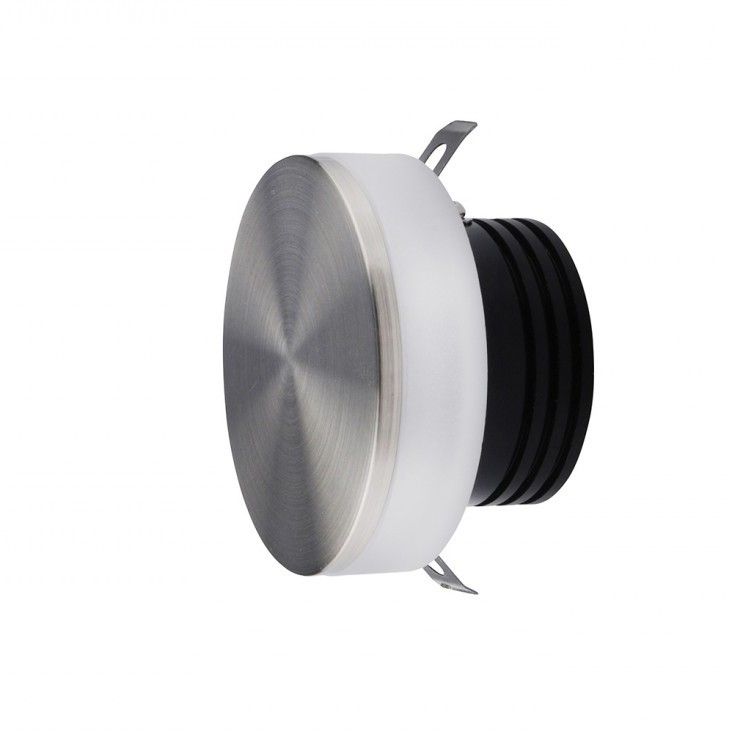 Spot LED incastrabil ambiental trepte/scari TAZ nickel ZZ AZ3371, Spoturi LED incastrate, aplicate,  a