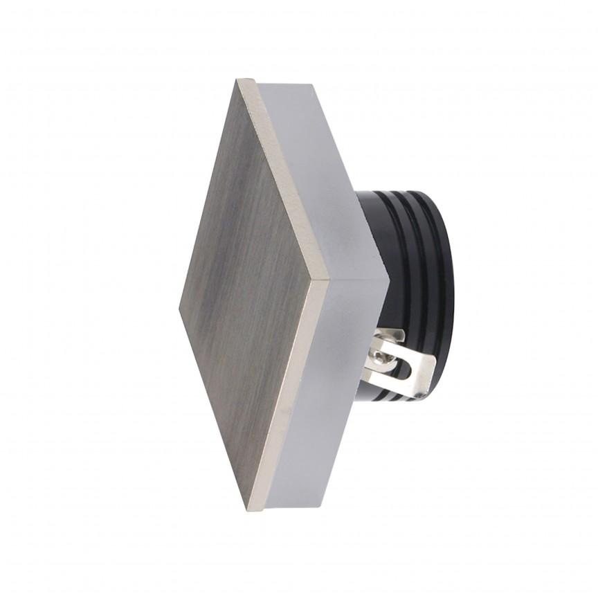 Spot LED incastrabil ambiental trepte/scari OZ nickel ZZ AZ3374, Spoturi LED incastrate, aplicate,  a
