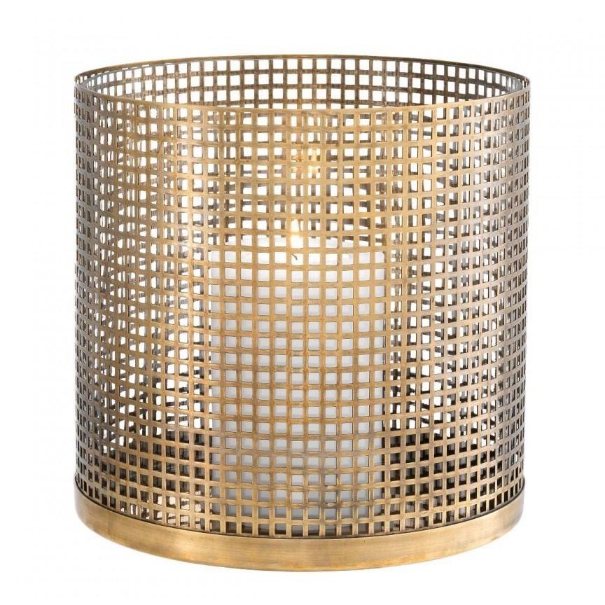 Suport de lumanare design LUX Sterling, alama 113136 HZ, Parfumuri de camera- Idei cadouri- Obiecte decorative,  a