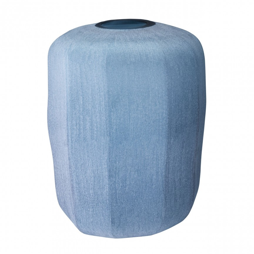 Vaza design elegant Avance L, albastru diam.33cm 113951 HZ, Parfumuri de camera- Idei cadouri- Obiecte decorative,  a