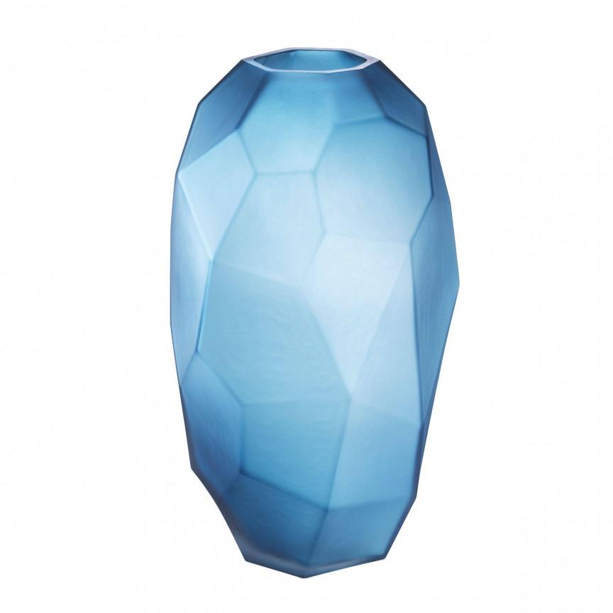 Vaza design elegant Fly L, albastru 113954 HZ, Parfumuri de camera- Idei cadouri- Obiecte decorative,  a