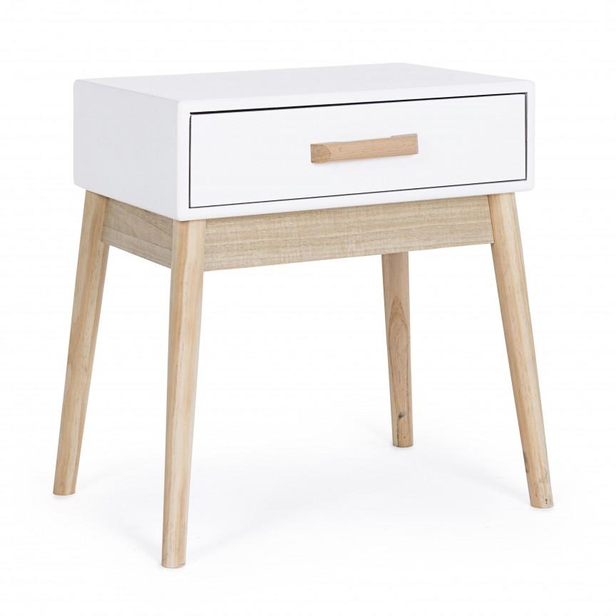 Masuta, Noptiera design scandinav ORDINARY 0740045 BZ, Paturi - Noptiere dormitor,  a