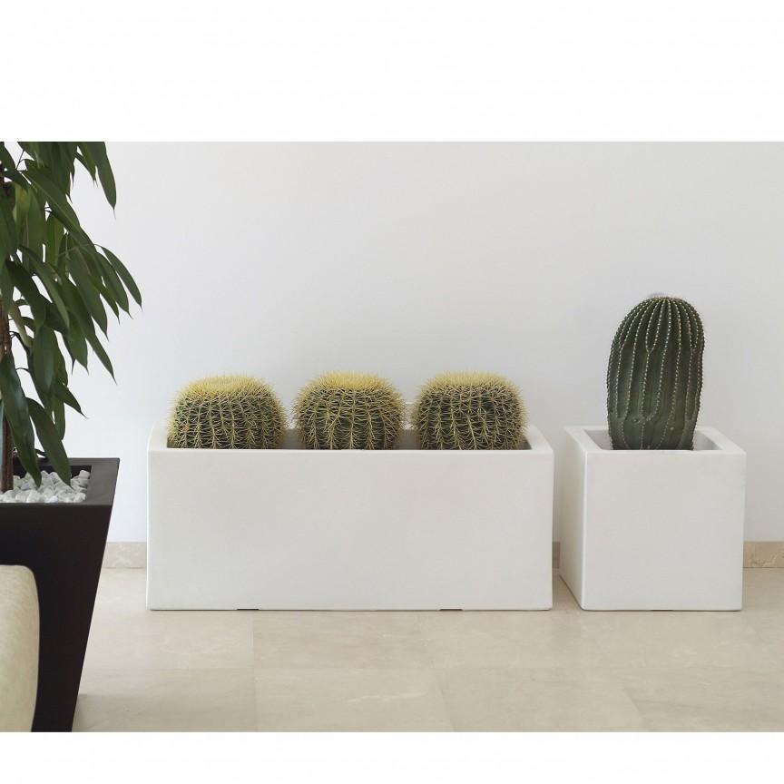 Jardiniera / Ghiveci de flori / plante / exterior / interior design modern premium JARDINIERE 80x30x30 Vondom 41630R, Vaze, Ghivece decorative,  a