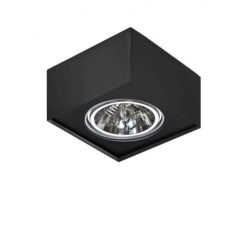 Spot aplicat directionabil PAULO 1 12V BK/BK ZZ AZ2880, Spoturi - iluminat - cu 1 spot,  a