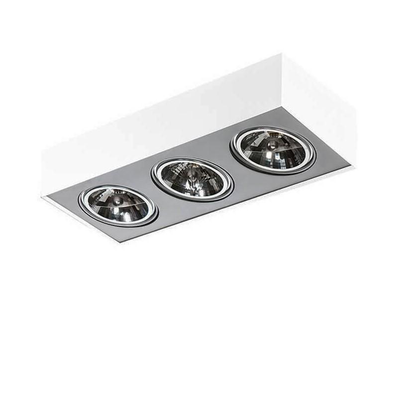 Spot aplicat directionabil PAULO 3 12V WH/ALU ZZ AZ1263, Lustre / Plafoniere cu 3 spoturi, LED⭐ modele moderne potrivite pentru tavan hol, dormitor, living, baie, bucatarie, camera copii.✅ Design premium actual Top 2020! ❤️Promotii lampi❗ ➽ www.evalight.ro. Alege oferte la corpuri de iluminat (rotunde si patrate) ieftine si de lux, calitate deosebita la cel mai bun pret. a