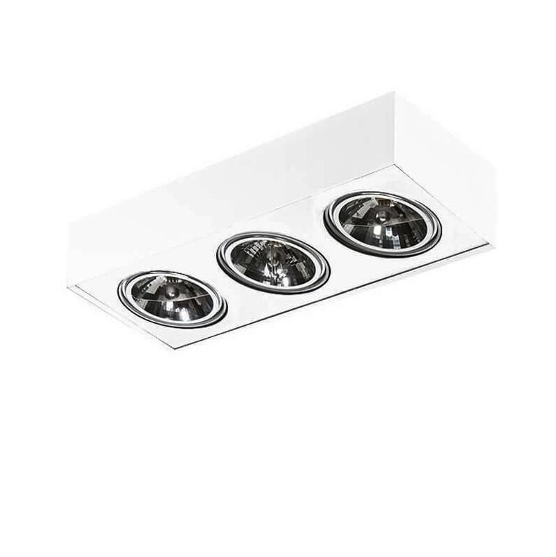 Spot aplicat directionabil PAULO 3 12V WH/WH ZZ AZ1797, Lustre / Plafoniere cu 3 spoturi, LED⭐ modele moderne potrivite pentru tavan hol, dormitor, living, baie, bucatarie, camera copii.✅ Design premium actual Top 2020! ❤️Promotii lampi❗ ➽ www.evalight.ro. Alege oferte la corpuri de iluminat (rotunde si patrate) ieftine si de lux, calitate deosebita la cel mai bun pret. a