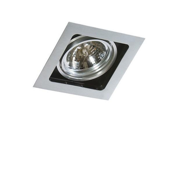 Spot incastrabil directionabil de tavan/plafon SISTO 1 ALU, Spoturi incastrate tavan / perete, LED⭐ modele moderne pentru baie, living, dormitor, bucatarie, hol.✅Design decorativ 2021!❤️Promotii lampi❗ ➽ www.evalight.ro. Alege oferte la colectile NOI de corpuri de iluminat interior de tip spot-uri incastrabile cu LED, cu lumina calda, alba rece sau neutra, montare in tavanul fals rigips, mobila, pardoseala, beton, ieftine de calitate la cel mai bun pret. a
