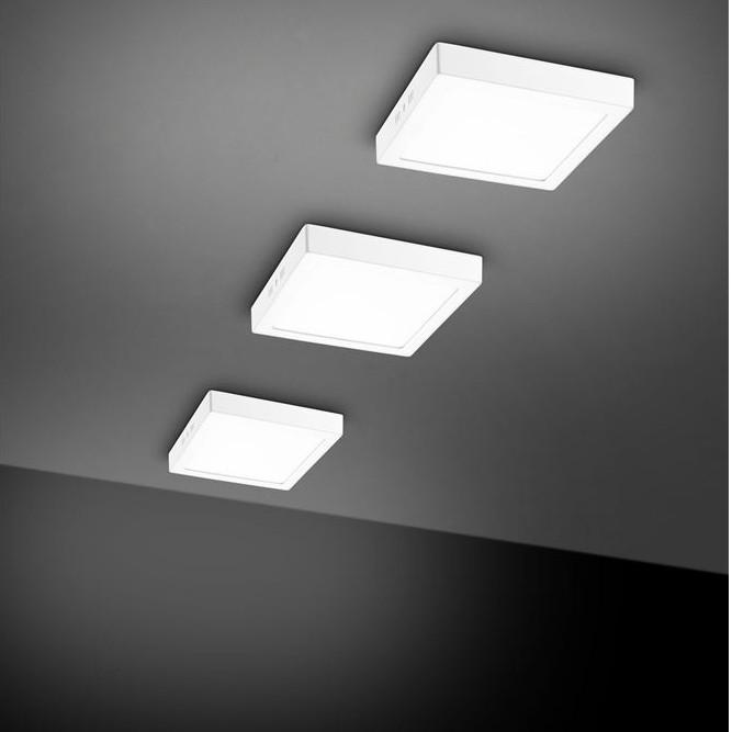 Aplica perete sau tavan cu iluminat LED SURFACE 3000K, 22,5x22,5cm NVL-61830002, Candelabre si Lustre moderne elegante⭐ modele clasice de lux pentru living, bucatarie si dormitor.✅ DeSiGn actual Top 2020!❤️Promotii lampi❗ ➽ www.evalight.ro. Oferte corpuri de iluminat suspendate pt camere de interior (înalte), suspensii (lungi) de tip lustre si candelabre, pendule decorative stil modern, clasic, rustic, baroc, scandinav, retro sau vintage, aplicate pe perete sau de tavan, cu cristale, abajur din material textil, lemn, metal, sticla, bec Edison sau LED, ieftine de calitate deosebita la cel mai bun pret. a