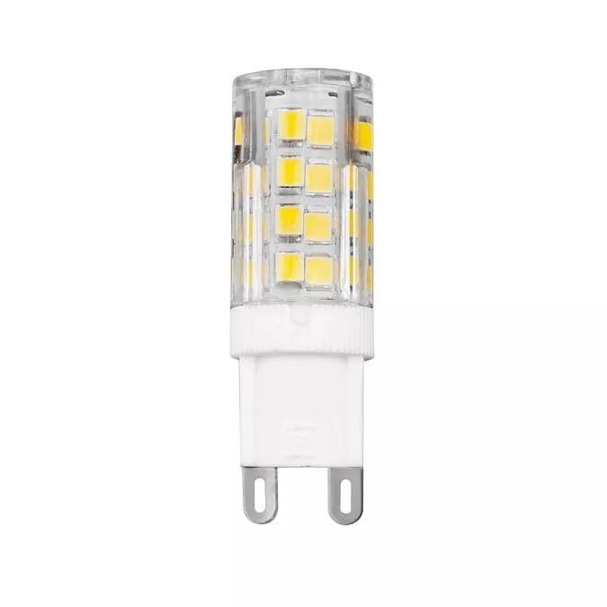 Bec LED G9 lumina calda BULB 4W / 3000K, Becuri G9 / G4 / halogen R7s LED pentru iluminat interior si exterior.⭐Cumpara online si ai livrare Acasa.✅Modele de becuri puternice cu halogen si economice cu LED.❤️Promotii la becuri cu soclu de tip G9 / G4 / R7s❗ Alege oferte speciale la becuri cu dulie potrivite la corpurile de iluminat pentru casa, baie, birou, restaurant, spatii comerciale❗ Cele mai bune becuri si surse de iluminat cu consum redus de energie, (ceramica, sticla, plastic, aluminiu), cu LED dimabile cu lumina calda (3000K), lumina rece alba (6500K) si lumina neutra (4000K), lumina naturala, proiectoare si reflectoare cu spot-uri reglabile cu flux luminos directionabil, cu forma liniara, cu lumeni multi, bec LED echivalent 35W / 50W / 100W / 120W / 150 (Watt) tensinea curentului electric este de 12V fata de 220V (Volti), durata mare de viata, becuri cu lumina puternica (luminozitate mare) ce consumă mai putina energie electrica, rezistente la caldura si la apa, ieftine si de lux, cu garantie si de calitate deosebita la cel mai bun pret❗ a