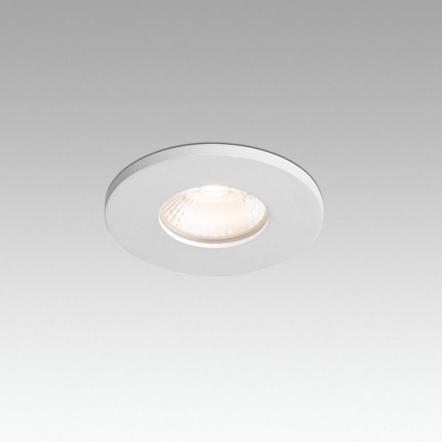 Spot LED incastrabil cu protectie IP65 COMPACT-R White 02070101, Spoturi LED incastrate, aplicate,  a