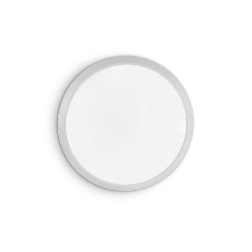 Aplica perete sau tavan LED design modern GEMMA PL D40 BIANCO 252612 IDL, Aplice de perete simple,  a
