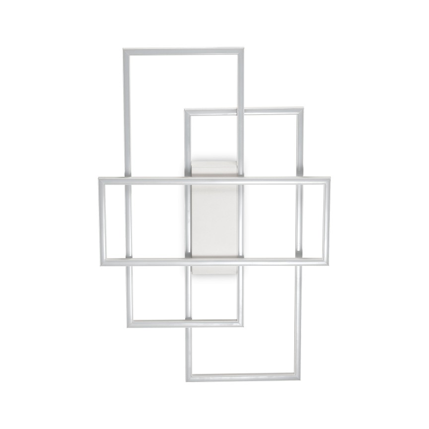 Lustra LED aplicata design geometric FRAME-1 PL 230726 IDL, Lustre moderne aplicate,  a