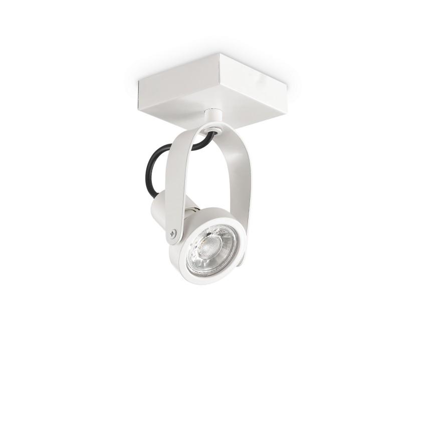Aplica perete sau tavan cu spot directionabil GLIM COMPACT PL1 BIANCO 229553 IDL, Spoturi - iluminat - cu 1 spot,  a