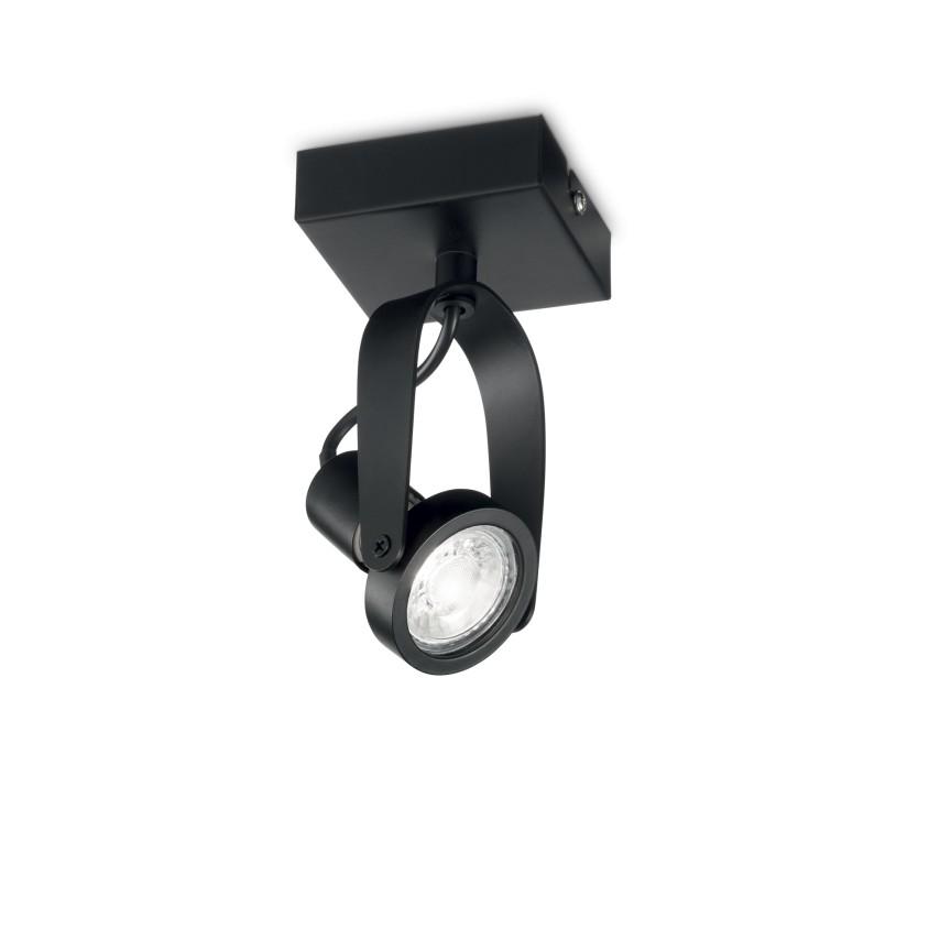 Aplica perete sau tavan cu spot directionabil GLIM COMPACT PL1 NERO 229560 IDL, Spoturi - iluminat - cu 1 spot,  a