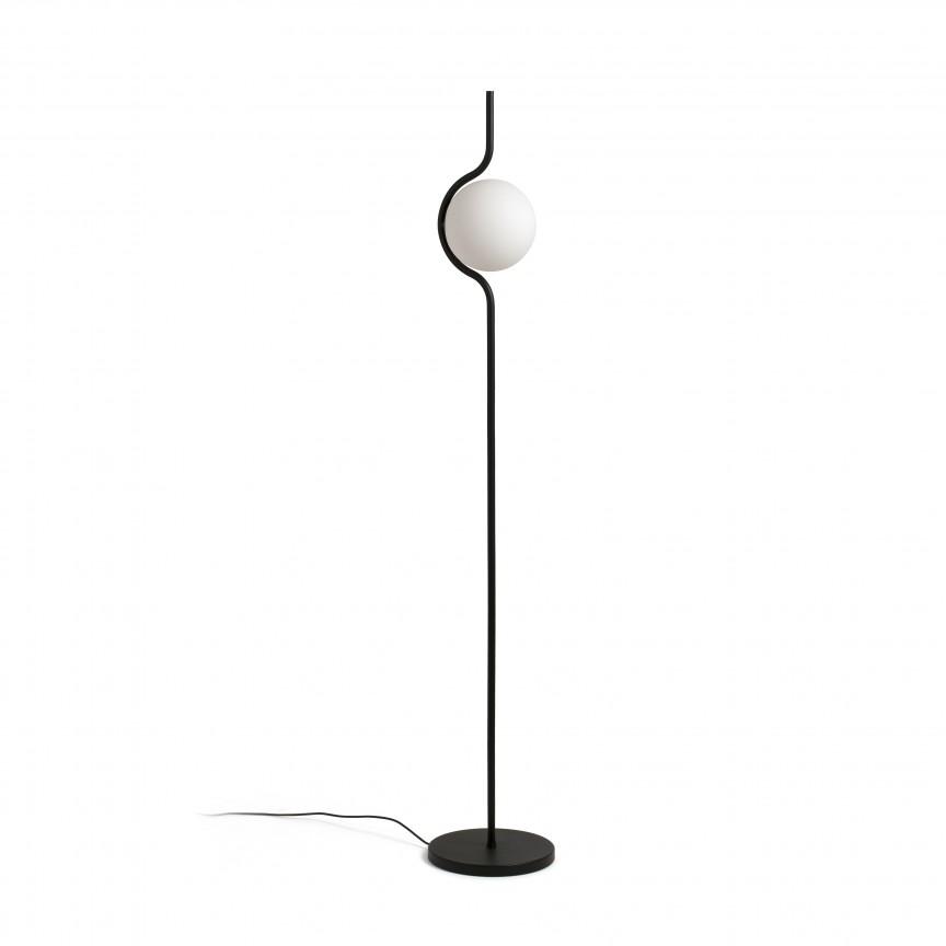 Lampadar LED dimabil design modern LE VITA LED Black 29698, Promotii si Reduceri⭐ Oferte ✅Corpuri de iluminat ✅Lustre ✅Mobila ✅Decoratiuni de interior si exterior.⭕Pret redus online➜Lichidari de stoc❗ Magazin ➽ www.evalight.ro. a
