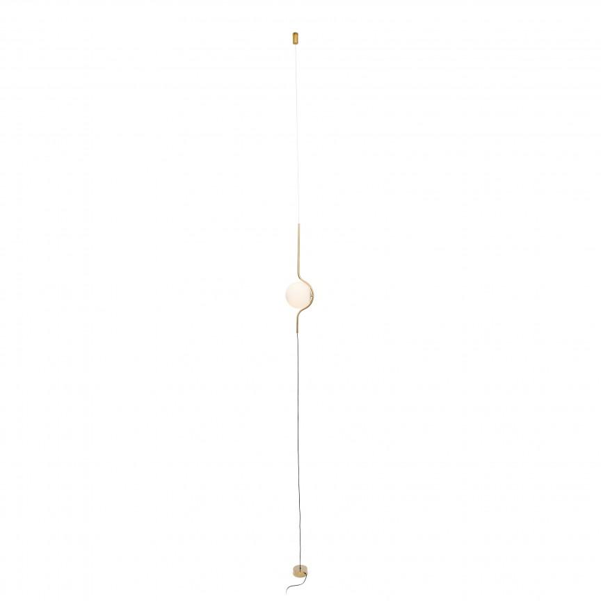 Lampa LED podea/tavan design modern deosebit LE VITA LED Gold 29694, Lampi de podea cu LED si Lampadare LED cu picior inalt⭐ modele moderne cu variator de lumina si reader LED.✅Design decorativ 2021!❤️Promotii❗ ➽ www.evalight.ro. Alege oferte la corpuri de iluminat de podea pt interior camera living si dormitor, elegante cu cristale, retro sau vintage, stil industrial din metal, lemn, abajur din material textil, sticla, tesatura, calitate deosebita la cel mai bun pret. a