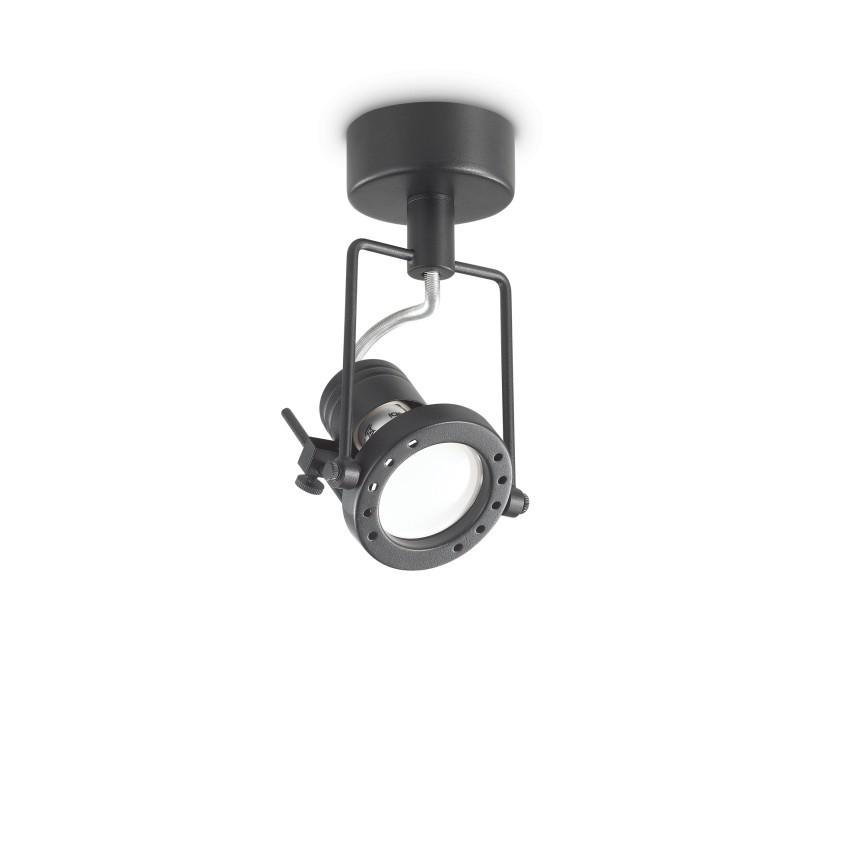 Aplica perete sau tavan cu spot directionabil SLIDE PL1 NERO 237039 IDL, Spoturi - iluminat - cu 1 spot,  a