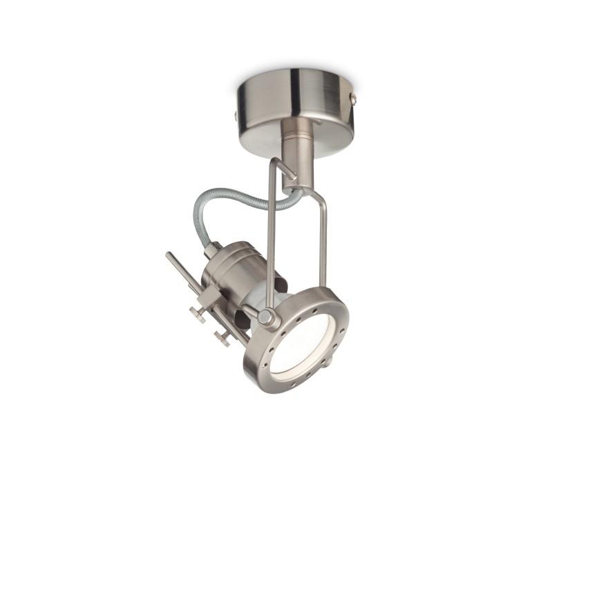 Aplica perete sau tavan cu spot directionabil SLIDE PL1 NICKEL 237022 IDL, Spoturi - iluminat - cu 1 spot,  a
