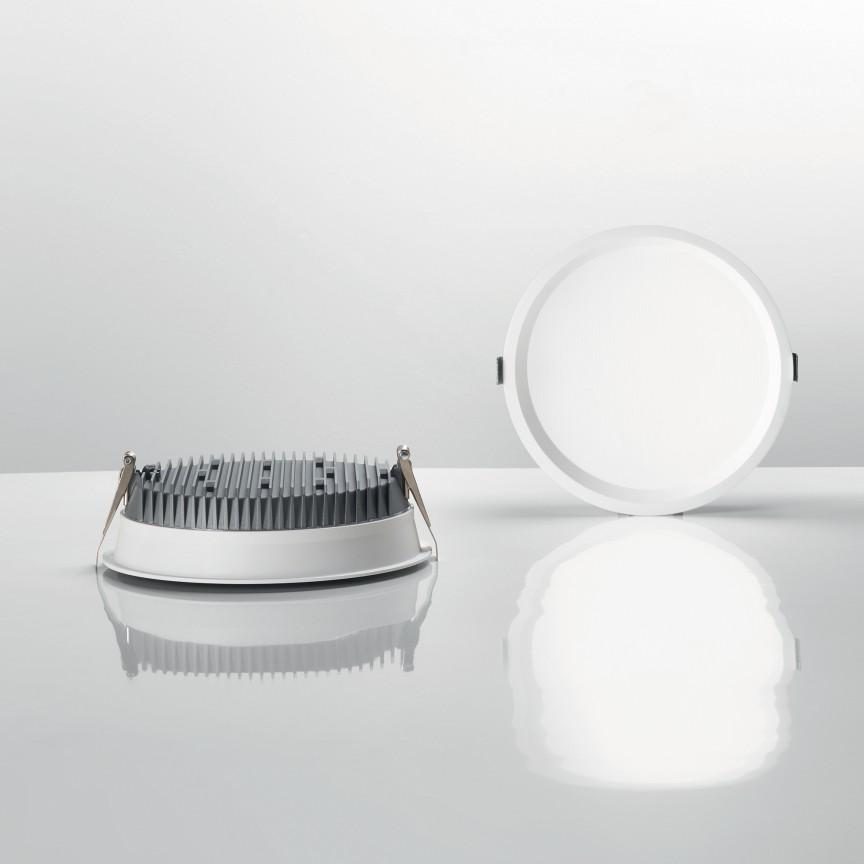 Spot LED incastrabil DEEP 10W 3000K 249018 IDL, Spoturi incastrate - tavan fals / perete,  a